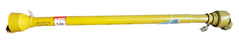 Kraftöverföringsaxel / PTO-axel till strängläggare 6-splines - Momentbegränsare