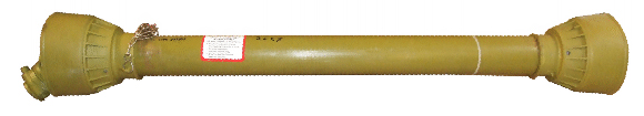 Kraftöverföringsaxel / PTO-axel 6-splines A5 - Brytbult - 47Hk