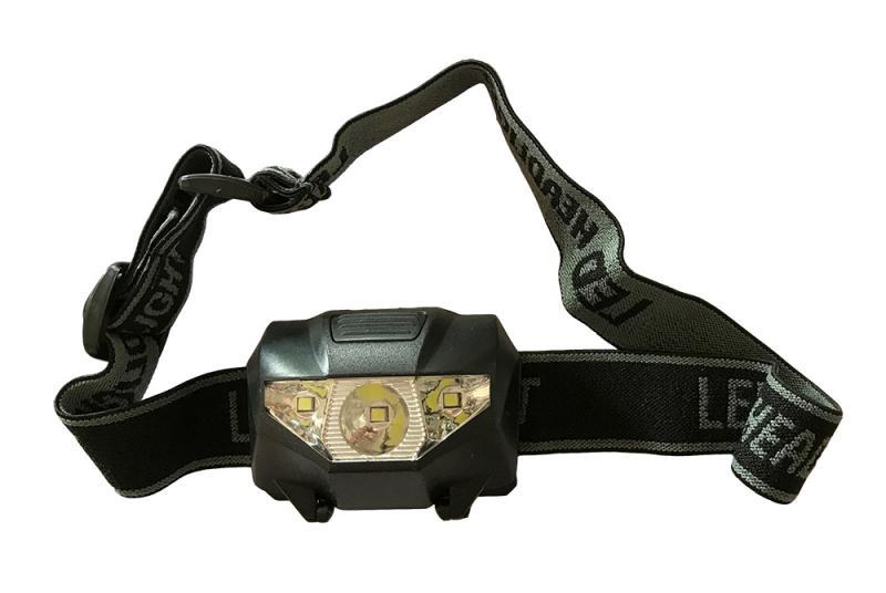 Pannlampa LED 3-olika ljus
