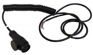 Kabel - Släpvagnskoppling - Förlängningskabel 13-polig