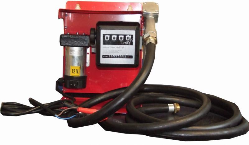 Dieselpump till som drivs med 12V batteri
