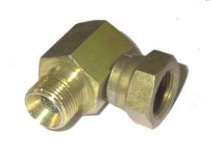 "Adapter 90° Hane 1/4"" x Hona 1/4"""