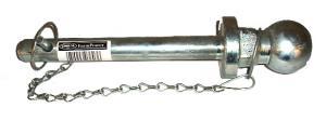 Dragkulepinne 22mm pinne/50mm kula/160mm användbarlängd