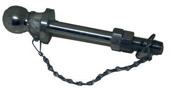 Dragkulepinne 25mm pinne/50mm kula/160mm användbarlängd