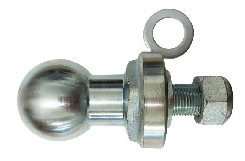 Dragkulepinne ATV bas 19mm pinne/50mm kula/25mm användbarlängd