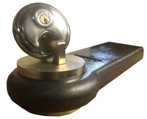 Stöldskydd med hänglås - Dragöglor 30mm