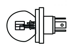 Glödlampa 12V 40w/45w 410