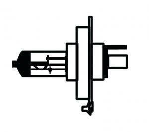 Glödlampa Halogen H4 55W/60W LLB 472