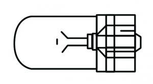 Glödlampa 3W LLB 504