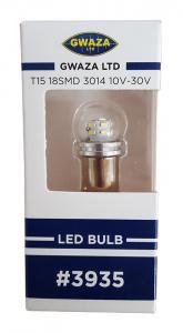 Glödlampa LED T15 BA15S