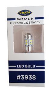 Glödlampa LED High Power H3 PK22s