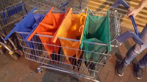 Shoppingkassar - 4 st
