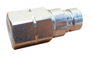 """Hydraulkoppling - Snabbkoppling Flat 3/4"""" Hane x 3/4"""" BSP gänga"""