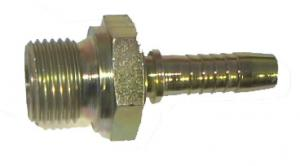 "BSP nippel utv.fast cylindrisk 1/4""x1/4"""
