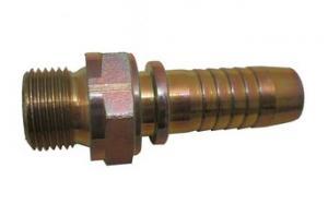 "BSP nippel utv.fast cylindrisk 3/8""x3/8"""