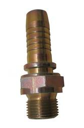 "BSP nippel utv.fast cylindrisk 1/2""x3/8"""