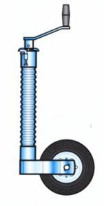 Stödhjul 500kg