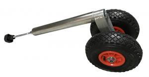 Stödhjul Dubbelhjul 500 kg
