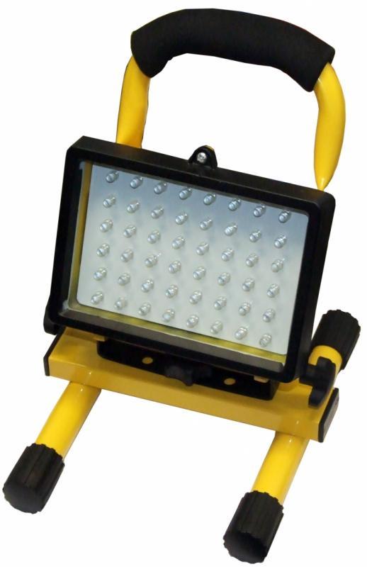 LED Bygg-/Arbetslampa - portabel