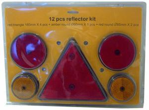 Set med reflexer - 12-pack
