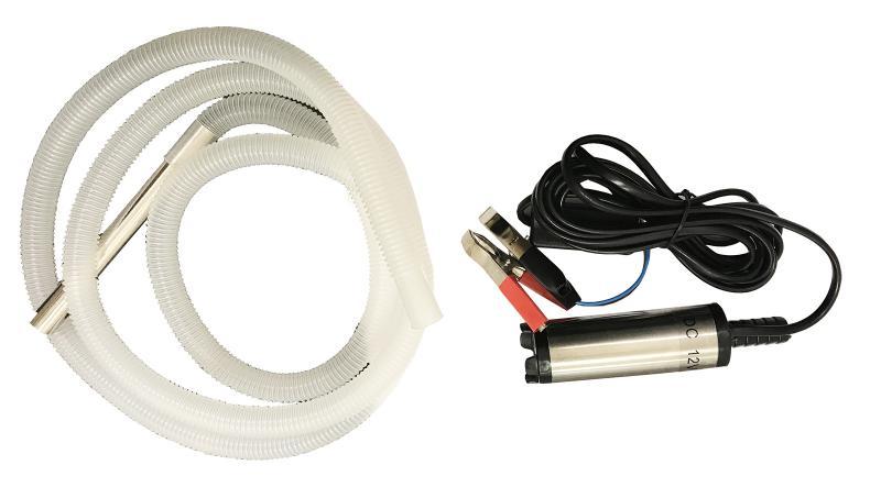 Dränkbar pump till Vatten, Diesel, Adblue, Grenox, Sillage additiver 12V/55W 11 l/min