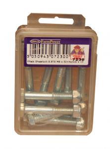 Brytbult- & Muttersats M10 x 65 10-pack