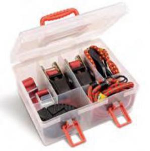 Gummistroppar/Bagagestroppar samt tillbehör - Set om 14 st
