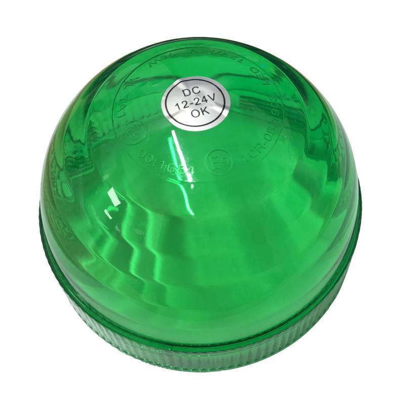 Grön lins till Varningsljus art.nr 15117 & 15118