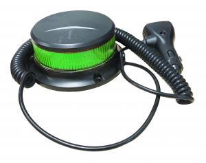 LED Varningsljus - Magnetisk med låg profil - Grön