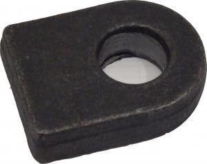 Ögla till grind 16mm hål - Rak bas