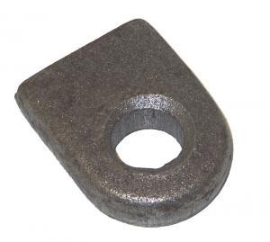 Ögla till grind 19mm hål - Rak bas
