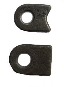 Ögla till grind 19mm hål - Svängd bas