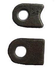Ögla till grind 13mm hål - Rak bas