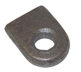 Ögla till grind 23mm hål - Rak bas