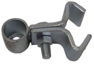 Gångjärn med klo till grind. Nedre - Koniskt hål 38,1mm & 25,4mm - Irlänsk stil