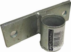 Gångjärn till grind. Horisontell. Nedre - Koniskt hål 38,1mm & 25,4mm - Irlänsk stil