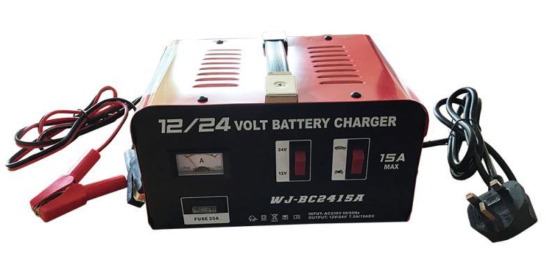 Batteriladdare 12V/24V