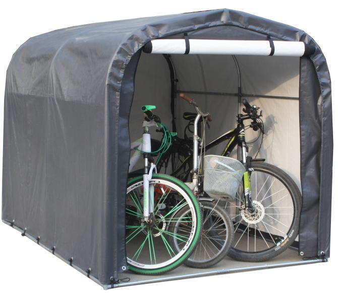 Cykelskjul / Förvaringstält för trädgården - 1590mm x 1670mm x 2200mm