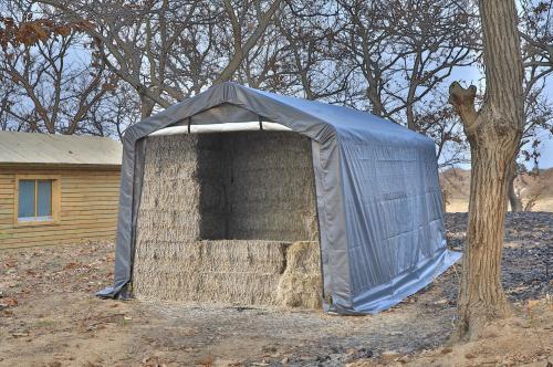 Vindskydd - Väderskydd 3 m x 6 m x 2,4 m
