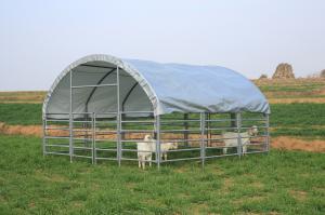 Vindskydd - Väderskydd 4 m x 4 m x 2,4 m