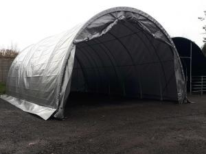 Vindskydd - Väderskydd - Förvaringstält 6,1 m x 9,1 m x 3,7 m