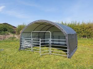 Vindskydd - Väderskydd 4 m x 4 m x 2.4 m
