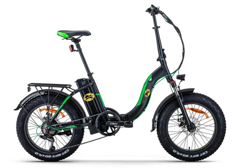 "Elcykel Roadhog Fatbike - vikbar - 20"" hjul"
