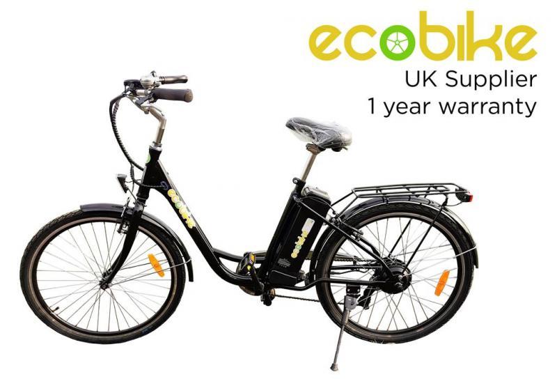 "Elcykel Unisex 26"" - Svart - Tillverkad i Europa"