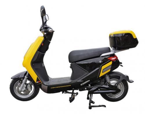 Elmoped Scooter City Style - Gul