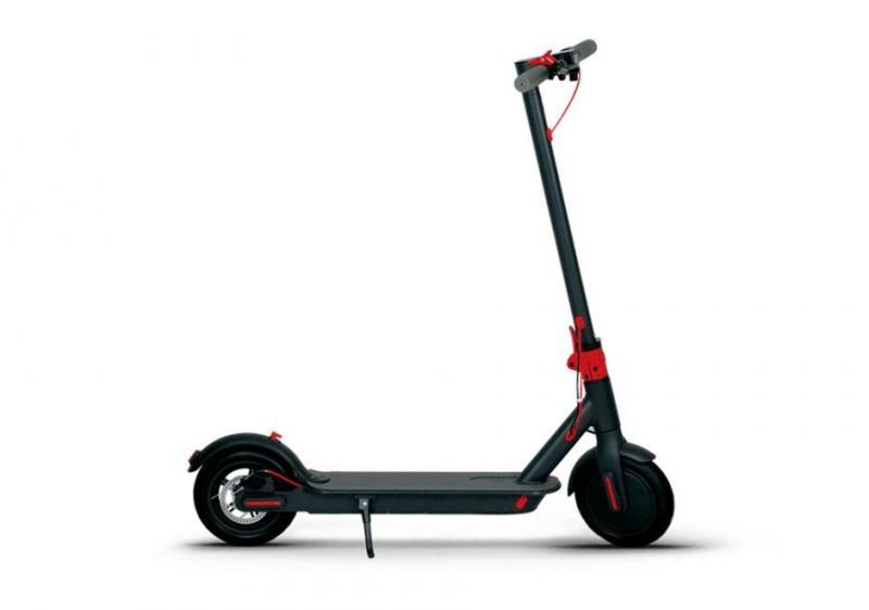 Elscooter - Hopfällbar - Svart