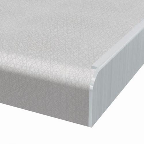 Sidoavslutningslist i aluminium