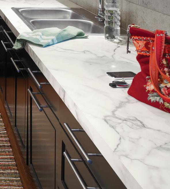 b nkskiva i carrara marmor i laminat. Black Bedroom Furniture Sets. Home Design Ideas