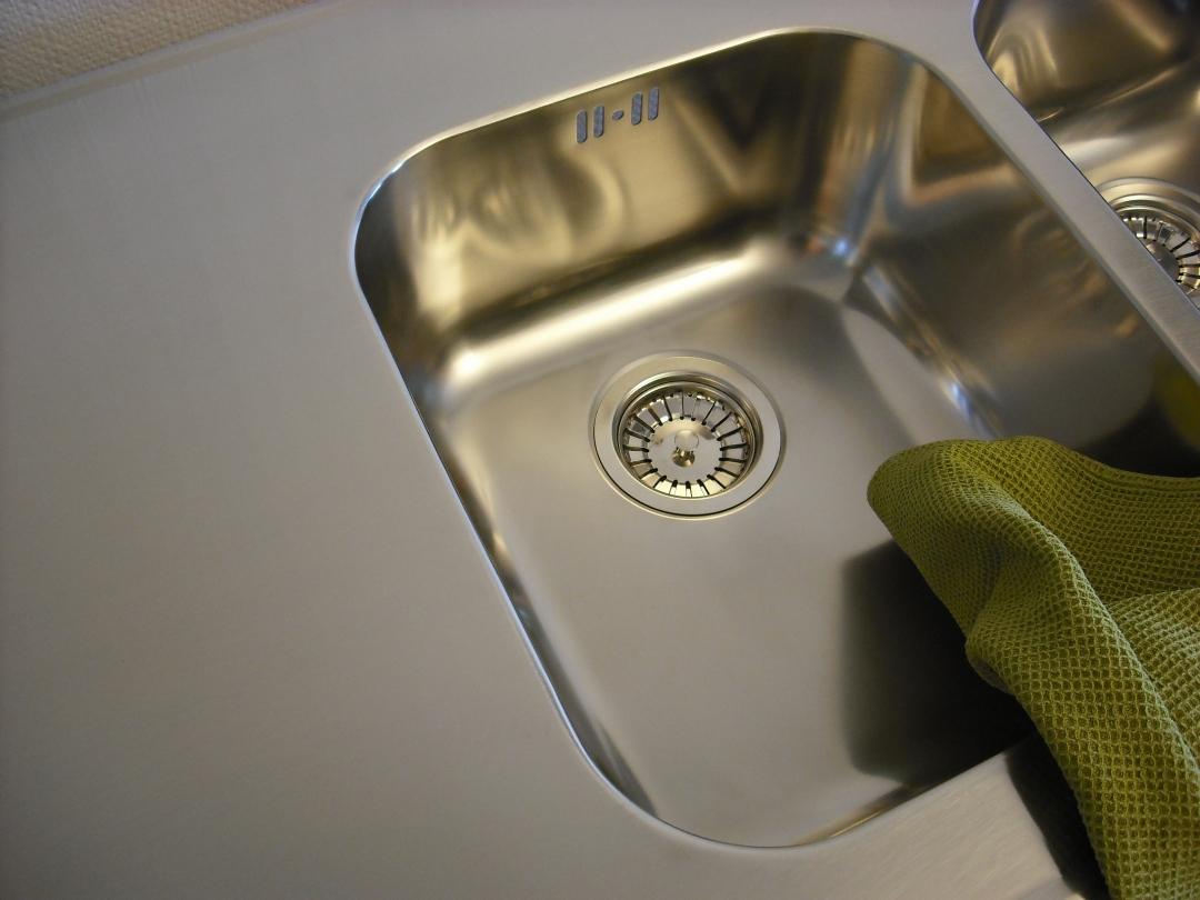 Rostfri diskbänk till ikea kök 635mm djup