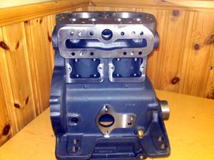 Cylinder block sats 021 komplett med lager,ventiler,packningar